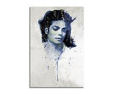 90x60cm PAUL SINUS Splash Art Gemälde Michael Jackson V Aqua Geschenkartikel