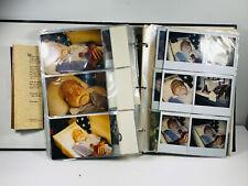 Huge Photo Album POST MORTEM polaroids Wichita KS wow 5 dead family members