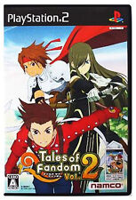 Used PS2 Tales of Fandom Vol. 2 (Tia Version) Japan Import (Free Shipping)