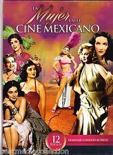 Mujer En El Cine Mexicano DVD NEW 12 Pk Ninon Silva - Maria Felix - Marga Lopez