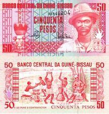 GUINEA BISSAU - 50 pesos 1990 FDS - UNC