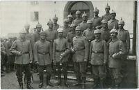 Wk 1, Korporalschaft, Kgl. bay. Fußa.-Regt., Original-Photo um 1915.