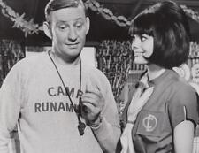 """Dave Madden, Nina Wayne in """"Camp Runamuck"""" 9/16/55 Original TV Still"""