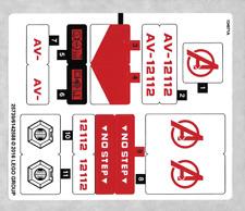 LEGO Super Heroes Sticker Neuf NEW Sticker for Set 76049 - 76049stk01