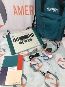Madsen Itera Diagnostic Audiometer System 8-04-02200