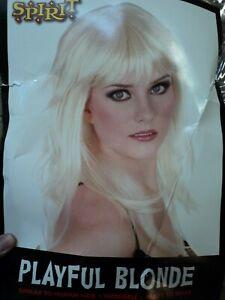 Playful Blonde Wig. Adult Sz.