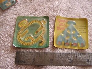 Vintage Antique Mainline Train and Tumble Ball Game