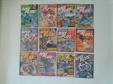 Old school BMX  80's -  Lot 12 magazines BMX PLUS (USA) 1986