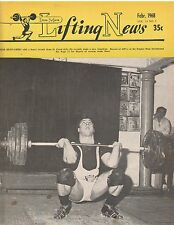 IronMan Lifting News Muscle Weightlifting Bob Bednarski 2-68 February 1968