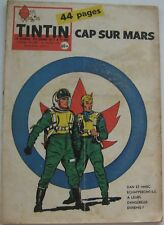 JOURNAL TINTIN N°540  Cap sur Mars/VAILLANT/JARI/ALIX/JACOBS 1959 BON ETAT