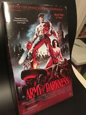 "Army of Darkness Evil Ash 12"" Sideshow Evil Dead MIB has shelf wear never opened"