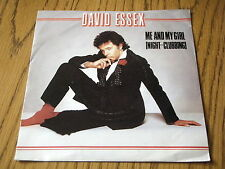 "DAVID ESSEX - ME AND MY GIRL (NIGHT-CLUBBING)     7"" VINYL PS"