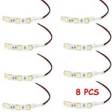8X 5050 LED Flexible Strip 5cm Decorative Light Lamp Waterproof Car Motor G6R6