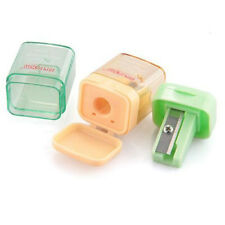 Cool Small Portable Pencil Sharpener Manual Hand Home Office Desktop Stationery