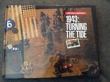 1943:Turning The Tide WWII U.S. Stamp Book w/mint stamps