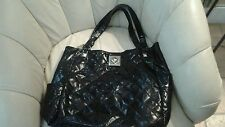 "Kenneth Cole REACTION  black tote extremely large 18""W X 14""H X 7""Deep"
