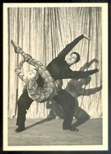CIRQUE, cabaret-variété; contorsionnistes , Tirage argentique c.1948/54 - 18x13