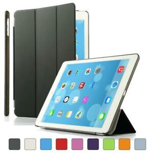 Apple iPad 234 Air12 Flip Stand Smart Wake Screen Cover & PU Leather Back Case