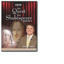 THE QUEST FOR SHAKESPEARE-SEASON TWO: Biographer Joseph Pearce: AN 4-DISC DVD