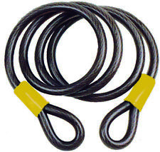2.1m Flexible Dble Loop Security Cable for Motorbikes/Bikes/Equipment (SECC144)