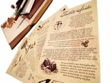 Lost Law of Tamriel journal pages inspired by the Elder scrolls and Skyrim