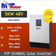(MG) 5000w 48v Solar inverter mppt solar charger 80a 450v PV 80A battery charger