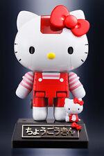 Hello Kitty Robot Red Stripe Ver. Chogokin Die-Cast Metal Model BANDAI