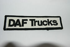 DAF TRUCKS BADGE PATCHES PATCH SEW ON BADGES NEW