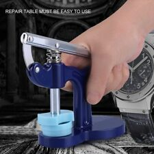 Watch Case Press Closer Presser Repair Tool Set Fitting Watchmaker with 12 Dies