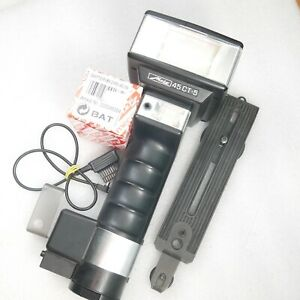 Metz 45 CT5 CT 5 Electronic Handle Mount Flash 35mm SLR Medium Format Digital