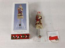 Novelino Christmas through the Ages Renaissance Santa Bell Vintage 1992 #CTA402
