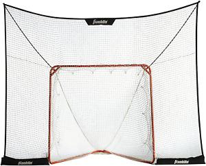 Franklin Sports Lacrosse Goal Backstop 12 x 9 FiberTech LAX Net Trainer Play