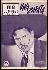 Film Complet #340 Dec 11th 1952 French Movie Mag Marlon Brando, Shirley Temple