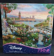 NEW Thomas Kinkade Disney 101 Dalmations Jigsaw Puzzle -750 PIECE FAST FREE SHIP