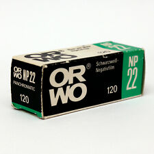 ORWO NP22 Film • ISO 125 • 120 Film • b/w negative • Rollfilm • Expired Vintage