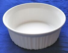New CorningWare French White 1.5qt Round Casserole Baking Pan Dish Roaster 1.5