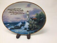 Thomas Kinkades Beacon Of Hope Collectors Plate