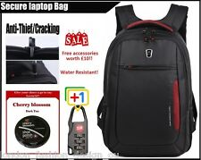 Stylish WENGER SA-1418 TGN 12~16 inches Laptop Backpack Notebook Bag BLACK