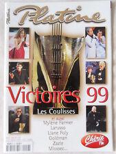 PLATINE N° 59 Victoires de la musique 1999 LIO Pierre VASSILIU Francis LALANNE