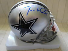 Terrance Williams signed Cowboys mini helmet, JSA