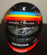 SIGNED Fernando Alonso 1/2 Scale Indy 500 Helmet 2017,