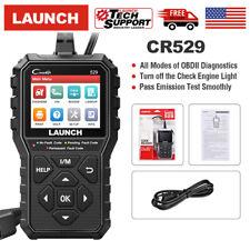 Launch Cr529 Obd2 Scanner Obd Code Reader Car Check Engine Fault Diagnostic Tool