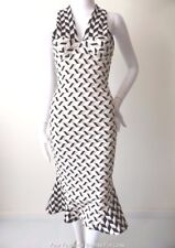 BY JOHNNY.   Made in Australia Size 6 - 8 US 2 - 4 Halter Neck  Bodycon Dress