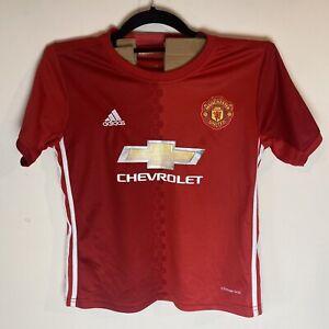 MANCHESTER UNITED #9 IBRAHIMOVIĆ 2016 2017 HOME Shirt | Kids Size M Boys 11-12