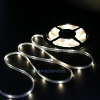 5M 100 LED Solar Lichtstreifen Strip Warmweiß Weihnachtsbeleuchtung Wasserdicht
