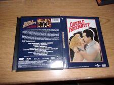 Double Indemnity (Dvd, 1998) Original Snapcase!