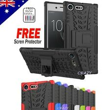 Tough Heavy Duty Strong Shockproof Case Cover For Sony Xperia XZ Premium