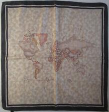 -Superbe Foulard  ALVIERO MARTINI 100% soie  TBEG  vintage scarf  66 x 68 cm