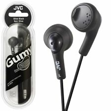 JVC Earphones HAF160 Gumy Bass Boost Stereo for iPod iPhone Android
