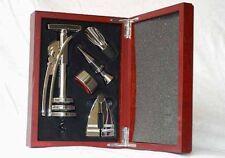 Weinset / Sommelier Set in roter Holzbox - Geschenkset